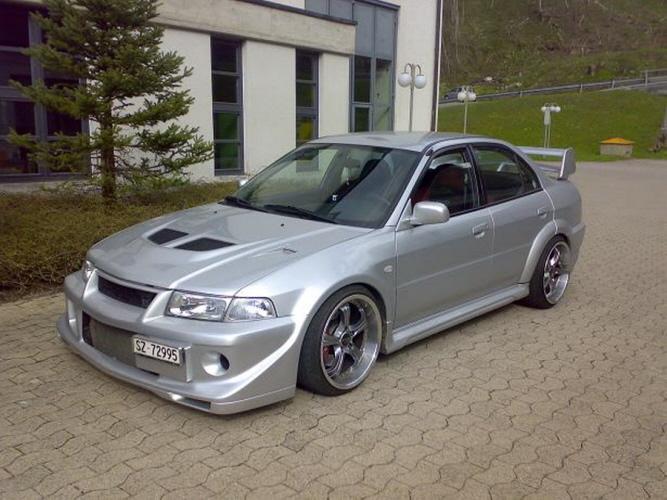 Mitsubishi Lancer EVO VI Mäkkinen Edition - züger-tuning.ch