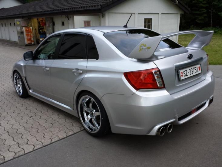Subaru Wrx Sti Z 252 Ger Tuning Ch